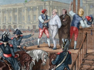 La ghigliottina prende nome da Joseph Ignace Guillotin, medico e deputato dell'Assemblea Nazionale di Francia che riconobbe e promosse l'uso della ghigliottina nel 1789, ritenendo che questo metodo rapido di esecuzione avrebbe riformato la pena capitale in linea con i diritti umani. Ma molti membri dell'Assemblea respinsero la sua difesa della ghigliottina con una risata. A proposito: la ghigliottina a Parigi si trovava in quella che oggi è la bellissima Place de la Concorde, all'inizio degli Champs-Élysées. |