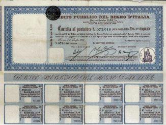 L'emergenza coronavirus innalza il debito pubblico