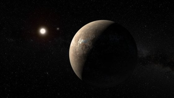 L'esopianeta Proxima b esiste ed è poco più grande della Terra