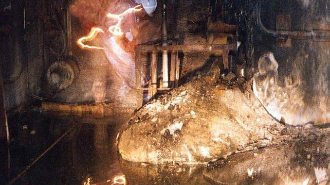Formazione strana e pericolosa nella centrale nucleare di Chernobyl