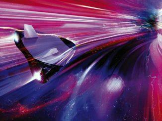 L'accelerazione di un corpo nello spazio a velocità luce