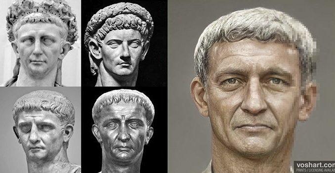 L'intelligenza artificiale fa rivivere gli antichi imperatori romani