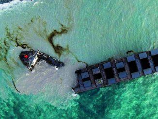 """Ancora emergenza ambientale per la """"marea nera"""" alle Mauritius"""