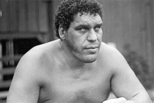 André The Giant (André René Voshart Roussimoff)