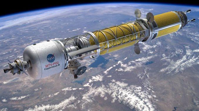 Viaggiare nello spazio con i propulsori nucleari