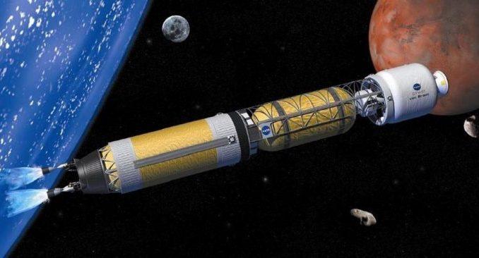Dalla Terra a Marte in 100 giorni? Il potere della propulsione nucleare