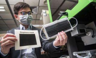 Covid19: le mascherine di grafene sono le più efficaci ed ecosostenibili