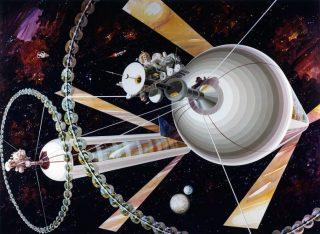 Habitat spaziali con gravità artificiale