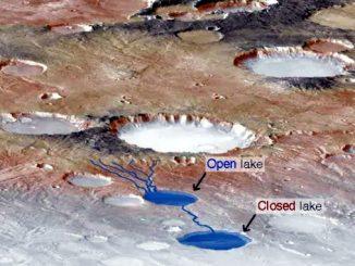 Trovati laghi ipersalini su Marte con i radar sottosuperficiali