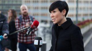 La ministra degli esteri norvegese Ine Marie Eriksen Søreide(reuters)