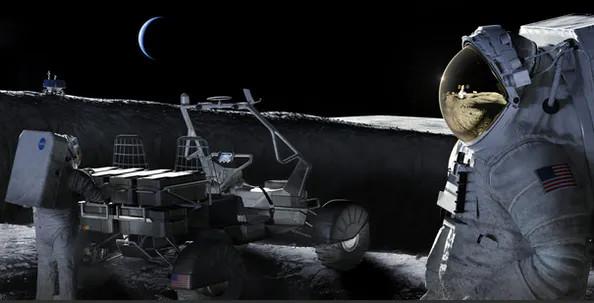 L'Italia andrà sulla Luna con il programma spaziale Artemis