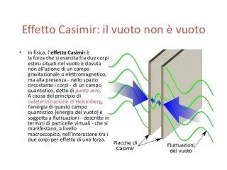 L'effetto Casimir