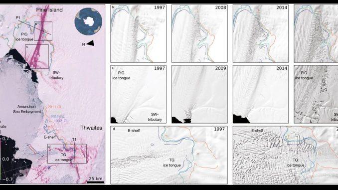 clima esa allarme ghiacciai in antartide stanno crollando