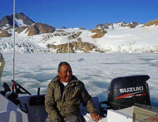 Un Inuit groenlandese