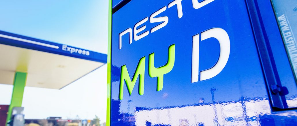 Neste MY Renewable, il diesel finlandese a basse emissioni CO2