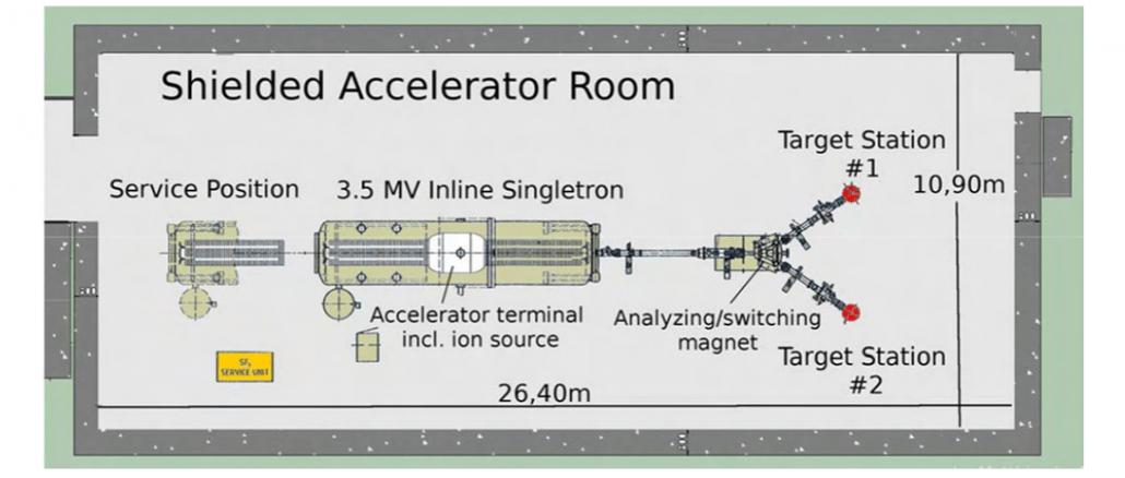 Esperimento LUNA per capire il momento dell'inflazione cosmica
