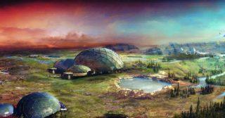 Vivremo su Marte all'interno di cupole di vetro