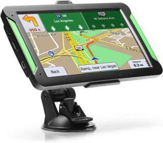 Sistema GPS usato in un'autovettura