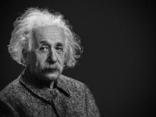 Il grande fisico tedesco Albert Einstein