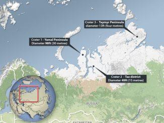 Siberia, sono stati individuati 17 crateri misteriosi