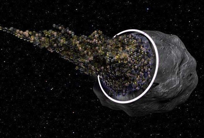 Asteroide o nave aliena in transito nel sistema solare?