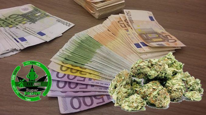 Maggiore gettito fiscale dalla legalizzazione della cannabis