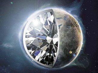 Una stella nana bianca con il nucleo di diamante
