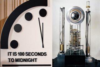 """Orologio dell'apocalisse, 100 """"secondi"""" alla fine del mondo. Governi impreparati di fronte al Covid"""