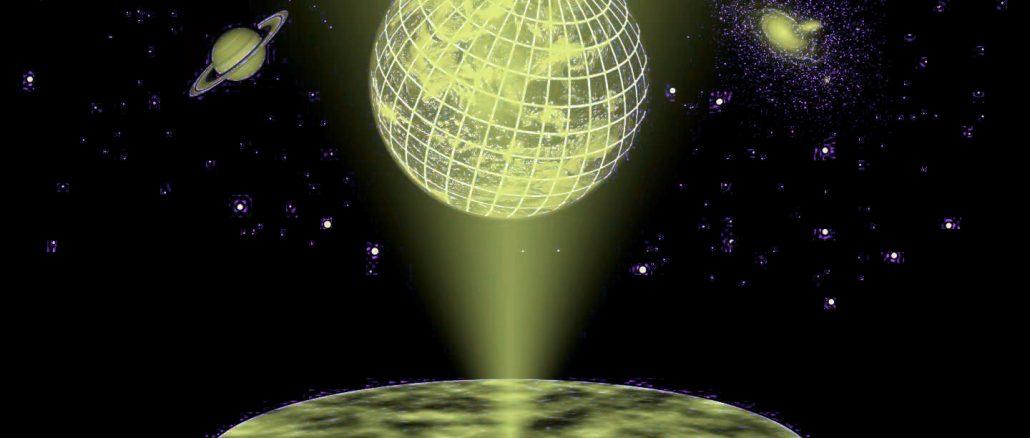 Olografia quantistica realizzata con fotoni entangled
