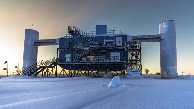 IceCube trova un antineutrino ad alta energia nello spazio profondo
