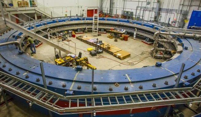 L'esperimento Muon g-2 (Fermilab)