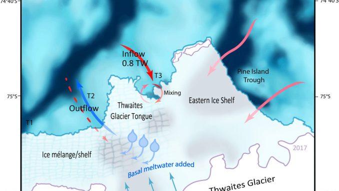 Enorme ghiacciaio si sta sciogliendo a causa del riscaldamento globale