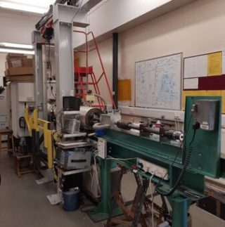 La Light Gas Gun facility presso l'Università del Kent. Crediti: research.kent.ac.uk