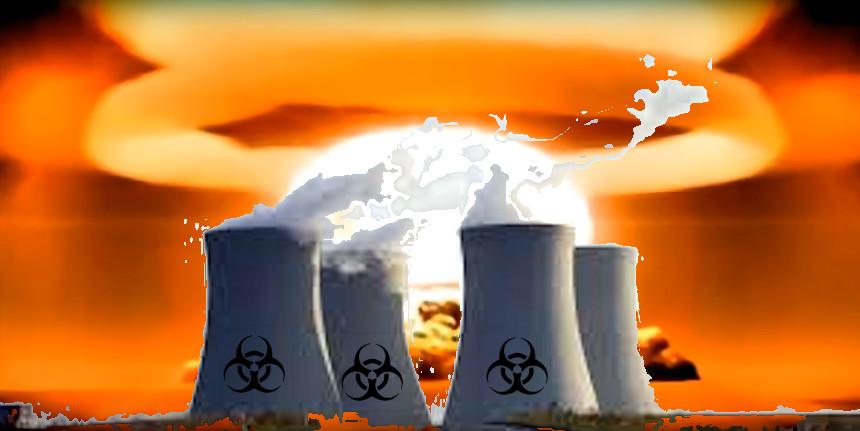 Fughe di gas radioattivo da centrale nucleare cinese