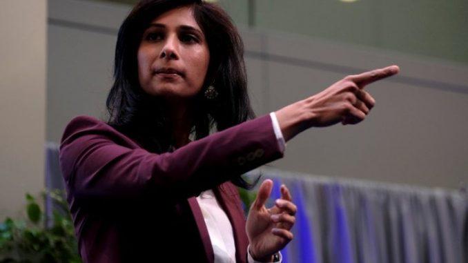 La capo economista del Fmi, Gita Gopinath(reuters)