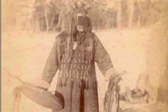 La foto di uno sciamano tunguso (1833?)