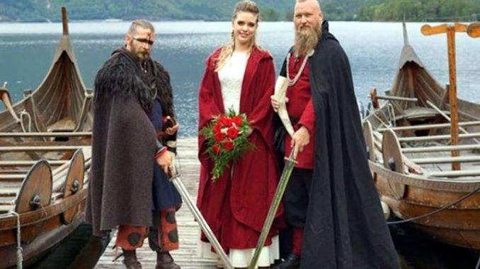 I lunghi viaggi dei guerrieri Vikinghi dell'antichità