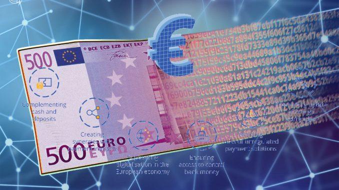 Sperimentazione dell'Euro digitale da parte della Bce