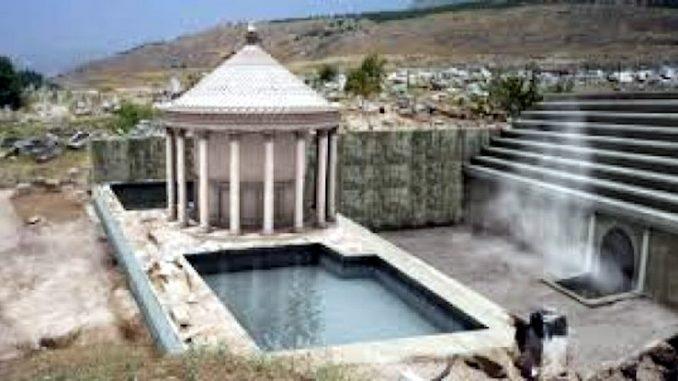 Misterioso e sconosciuto antico centro termale in Turchia