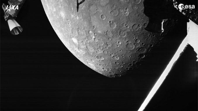 BepiColombo vicino Mercurio: lo scatto celebra un successo italiano