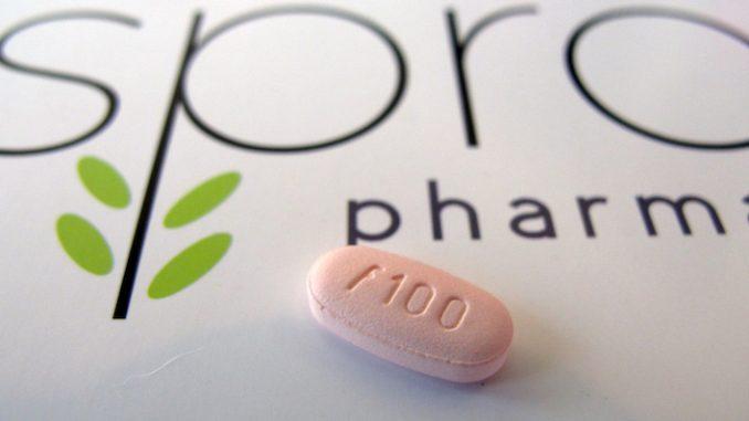 Una pillola di flibanserina, prodotta da Sprout Pharmaceuticals. (AP Photo/Allen G. Breed)